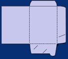 desky s chlopněmi tvar 1a