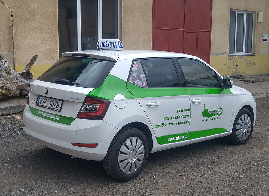 SOU Horky auto